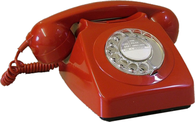 RED-Vintage phone PSD