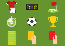 Soccer Vector Icons