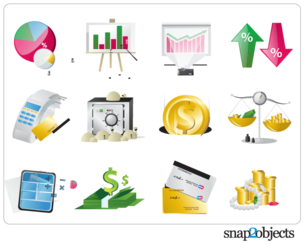 Free Vector Financial Elements