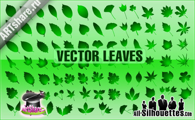 84 Vector Leaves
