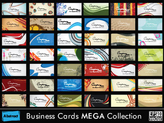 Business cards template vector-2