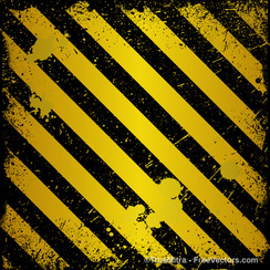 Grunge Metal Yellow Lines Backgrounds