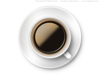 PSD coffee cup icon