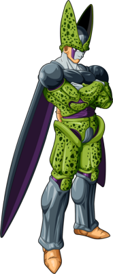 Dragon Ball Z Cell Perfect Form PSD