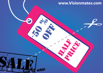 Price Tag Vector With Pink Layout