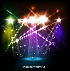 Bright Stage Lighting Effects 01