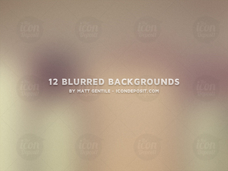 12 Blurred Backgrounds