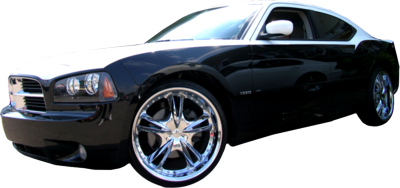 dodge charger PSD