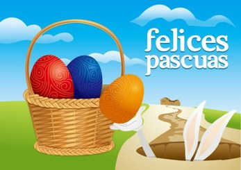 Free vector about easter rabbit