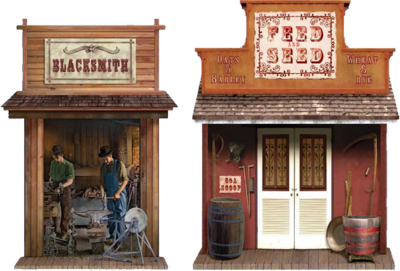 Black smith & feed store (jiffy western edition) PSD