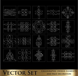 Decorative Elements Line Draft 02