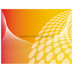 ORANGE ABSTRACT VECTOR BACKGROUND.eps