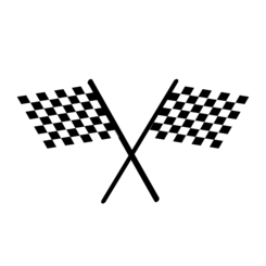 netalloy chequered flag