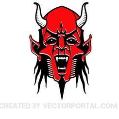 RED DEVIL VECTOR IMAGE.eps
