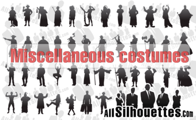 63 Miscellaneous Costumes