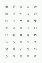 Simple Line Icons Set Vol.3