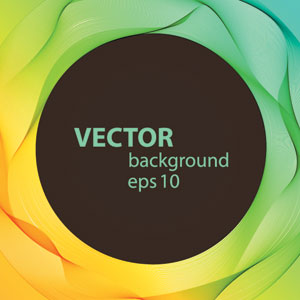 Stock Abstract Vector Line Background
