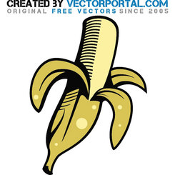 BANANA VECTOR GRAPHICS.eps