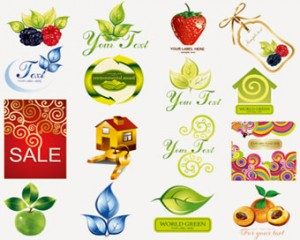 Stock Icons : Fruit Icons-Set