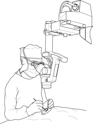 Surgeon During Operation