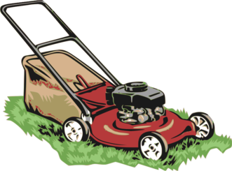 Red Lawnmower