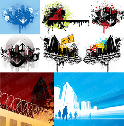 9 the trend of construction-related material illustrator vec