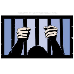 PRISON BARS VECTOR ABSTRACT.eps