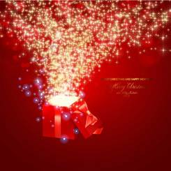 Beautiful Christmas theme elements vector-4