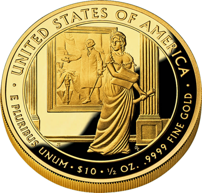us mint gold coin PSD
