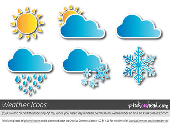 Free Vector Weather Icons