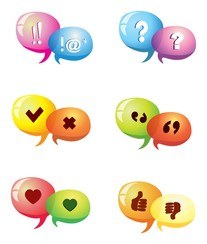 Discussion icons