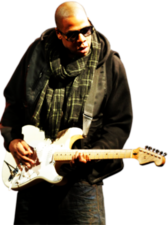 Jay-Z Playing Guitar PSD