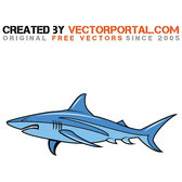 ANGRY SHARK CARTOON VECTOR.eps