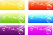 Color Banner Background