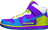 "nike dunks ""retrotonik's"" PSD"