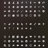 256 Full Web Icons Pack