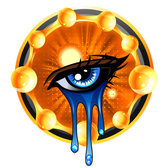 Tears decorative painting