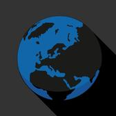 GLOBE ICON VECTOR.eps