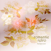 Beautiful flowers background vector-9