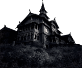 Haunted Mansion PSD