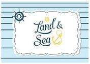 Free Land and Sea Background