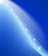 Abstract Magic Blue Background