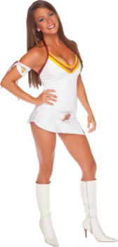 washington redskins cheerleader PSD