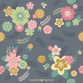 Floral background free download