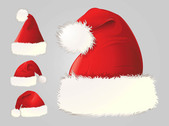 Detailed Santa Claus Hat Pack
