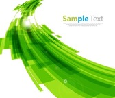 Green Modern Design Abstract Background
