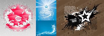 Vector Graphic Elements Of The Theme Stars-2