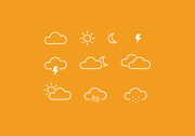 10 Wetter-Icons
