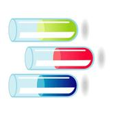 TEST TUBES VECTOR GRAPHICS.eps