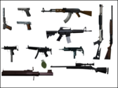 GTA: New York Weapons Pack PSD